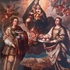 7. Santa María de Montesa, Santa Lucía y Santa Águeda