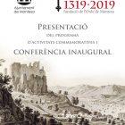 Cartell presentació actes 700 aniversari + conferència