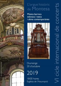 Concert orgue Montesa 20.10.19