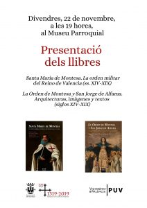 Cartell presentació llibres 22.11.19