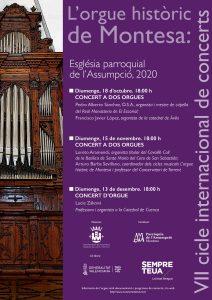 VII Cicle d'orgue, Montesa, 2020