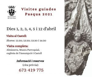 Visites guiades Pasqua 2021